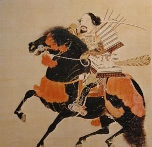 騎馬武者像